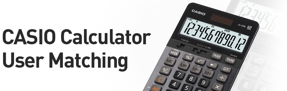CASIO Calculator User Matching